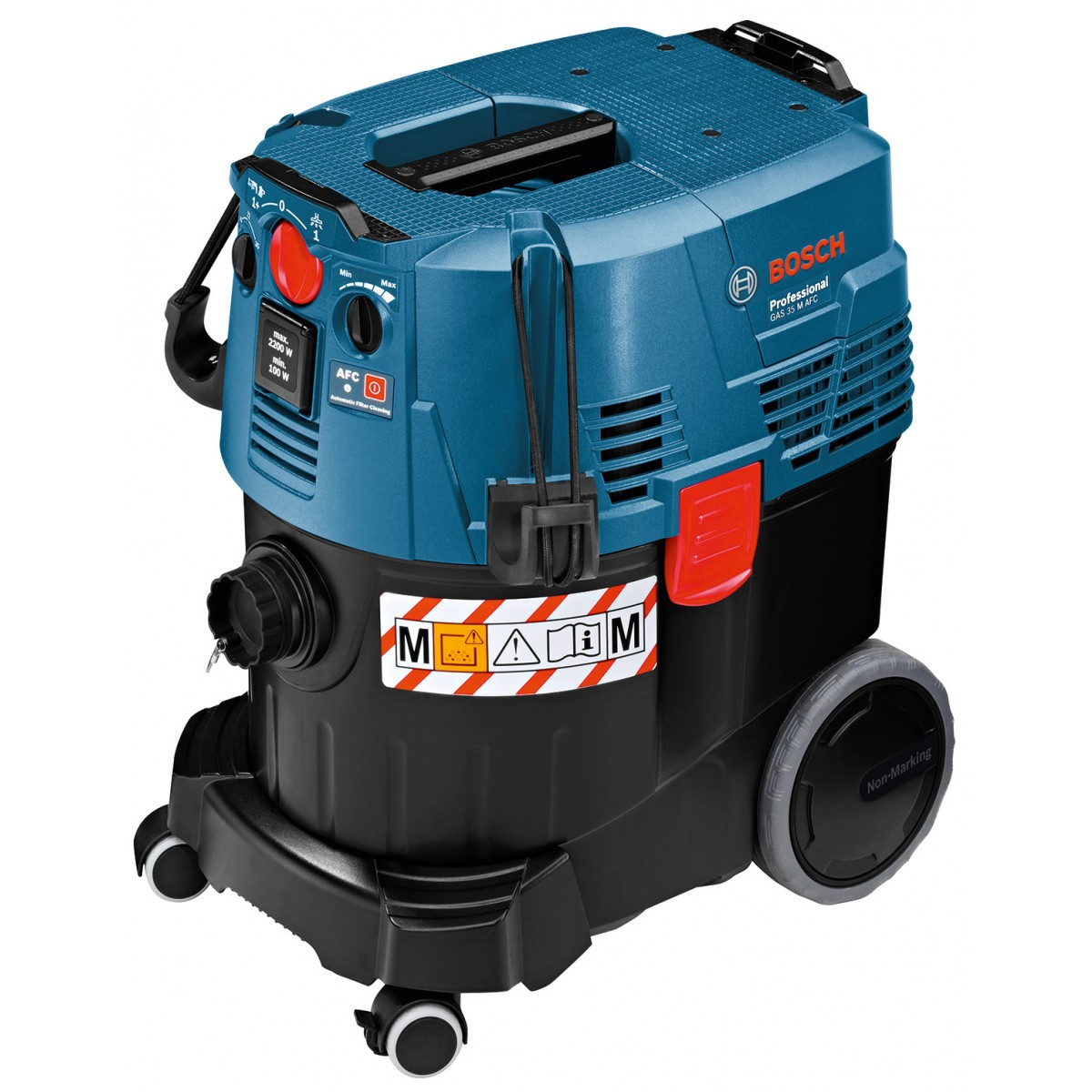 bosch gas 35 m afc 110v m class dust extractor howe tools uk. Black Bedroom Furniture Sets. Home Design Ideas