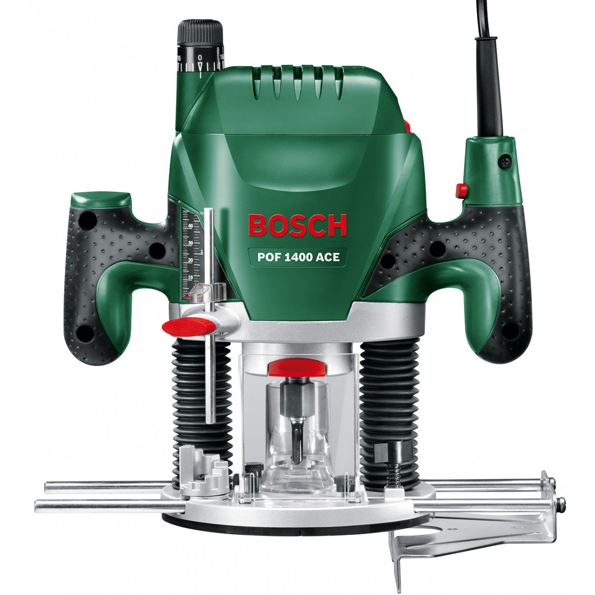 bosch green pof 1400 ace 240v plunge router 1 4 collet howe tools uk. Black Bedroom Furniture Sets. Home Design Ideas