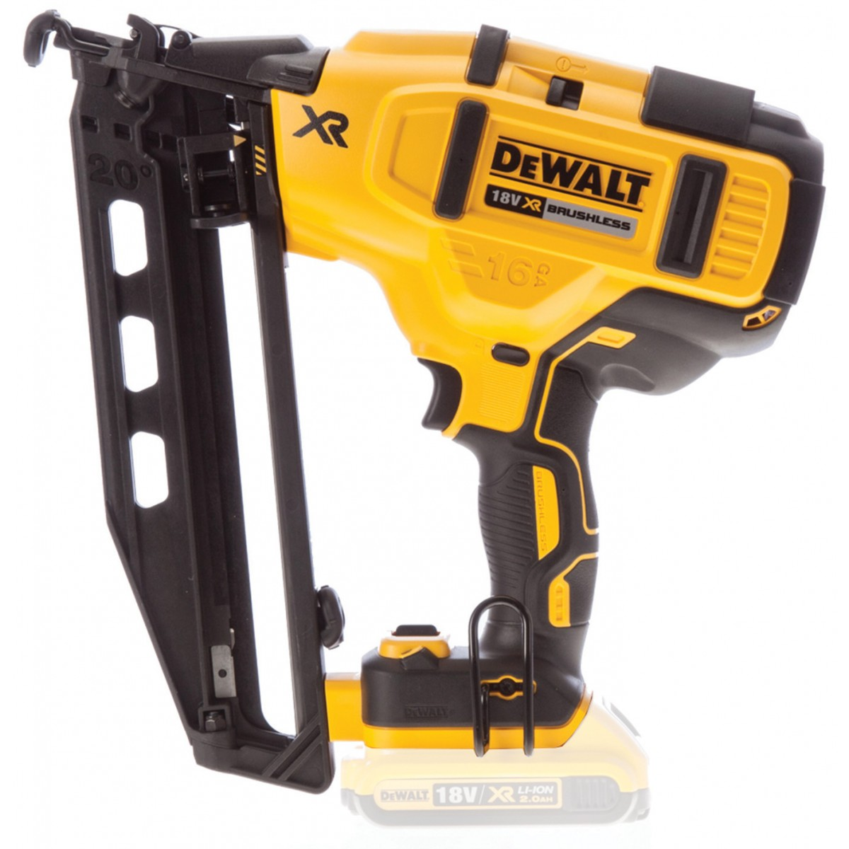 DEWALT DCN660N 18v Second fix nailer - Howe Tools UK