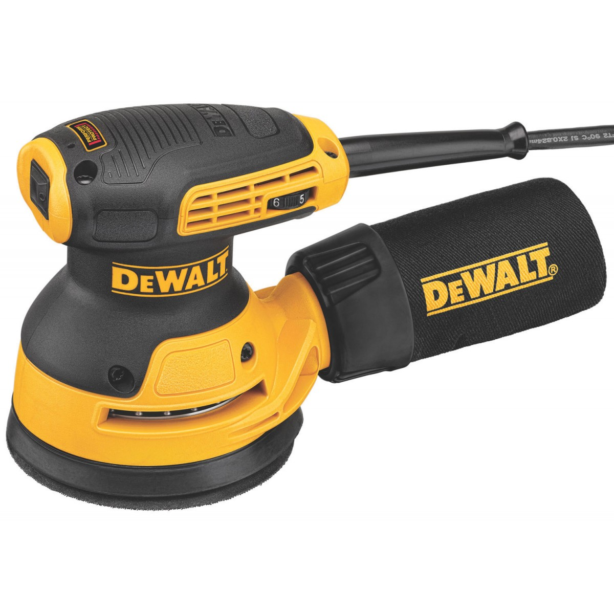dewalt dwe6423 240v orbital sander 125mm dia pad howe tools uk. Black Bedroom Furniture Sets. Home Design Ideas