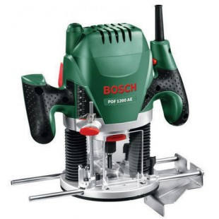 BOSCH GREEN POF-1200-AE 240v Plunge router - 1/4