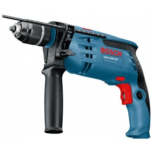 BOSCH GSB 1600 RE 240v Percussion drill - 13mm keyless chuck