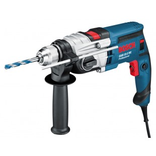 BOSCH GSB 19-2 RE 110v Percussion drill - 13mm keyless chuck