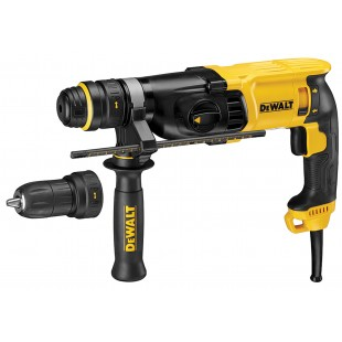 DEWALT D25134K 240v 3 function hammer - SDS plus