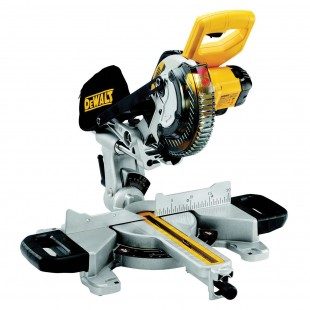 DEWALT DCS365N 18v Slide mitre saw - 184mm blade