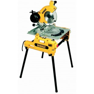 DEWALT DW743N 240v Flip over saw - 250mm blade