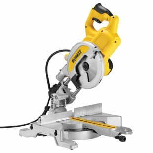 DEWALT DWS777 110v Slide mitre saw - 216mm blade