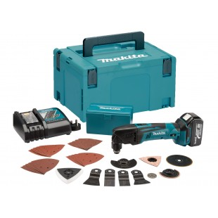 MAKITA DTM50RT1J3 18v Multi function tool