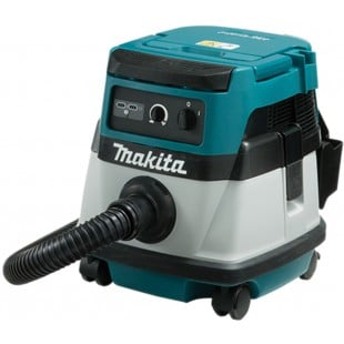 MAKITA DVC861LZ Twin 18v & 110v L class dust extractor