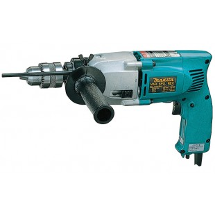 MAKITA HP2010N 240v Percussion drill - 13mm keyed chuck
