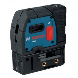 BOSCH GPL 5 AA batteries Point laser