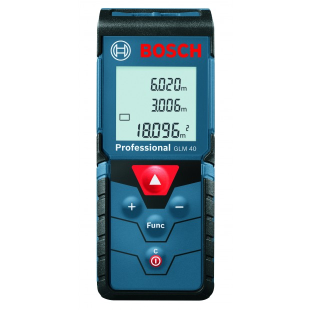 comes with the BOSCH GLM 40