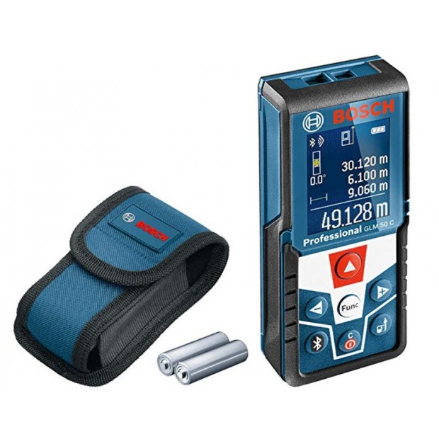 comes with the BOSCH GLM 50 C