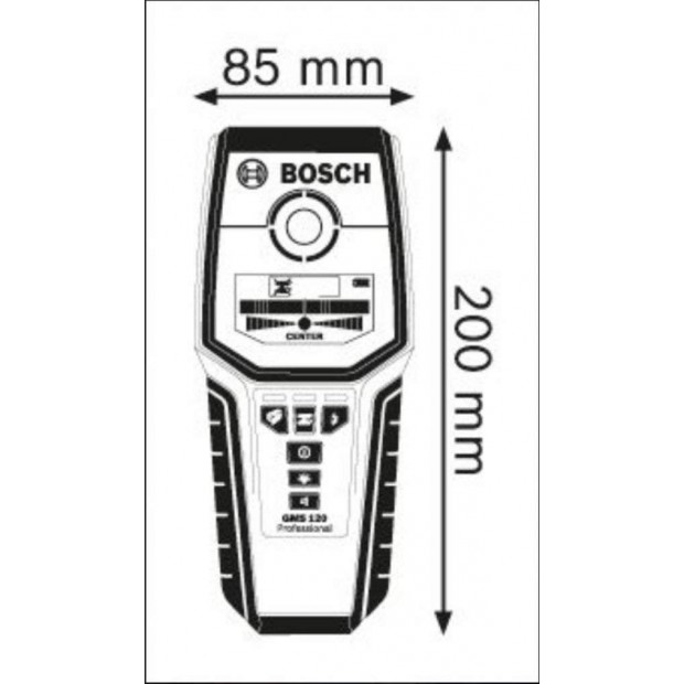 battery for for the BOSCH GMS 120