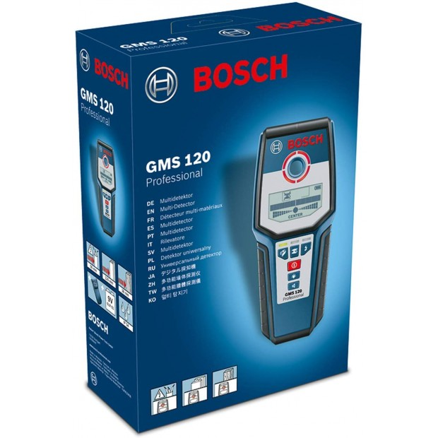 container for for the BOSCH GMS 120
