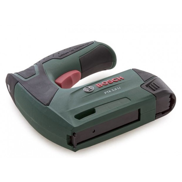 comes with the BOSCH GREEN PTK 3.6LI