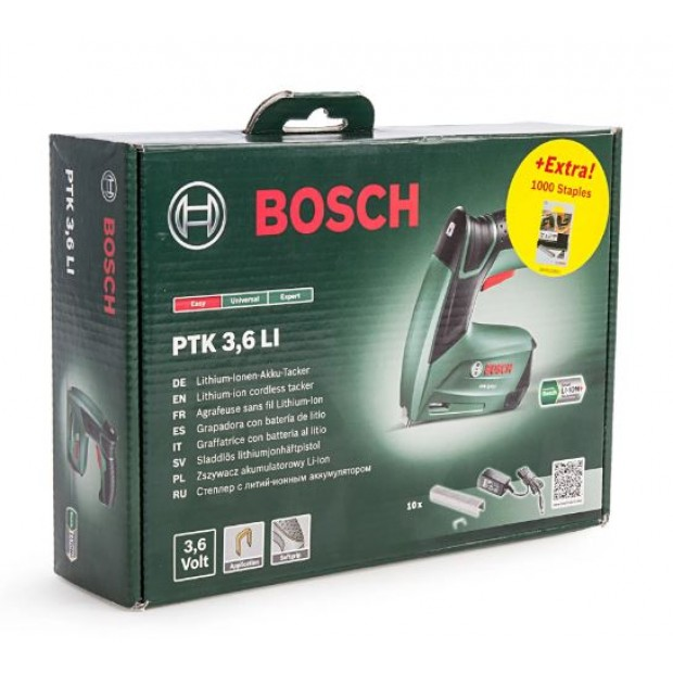 container for for the BOSCH GREEN PTK 3.6LI