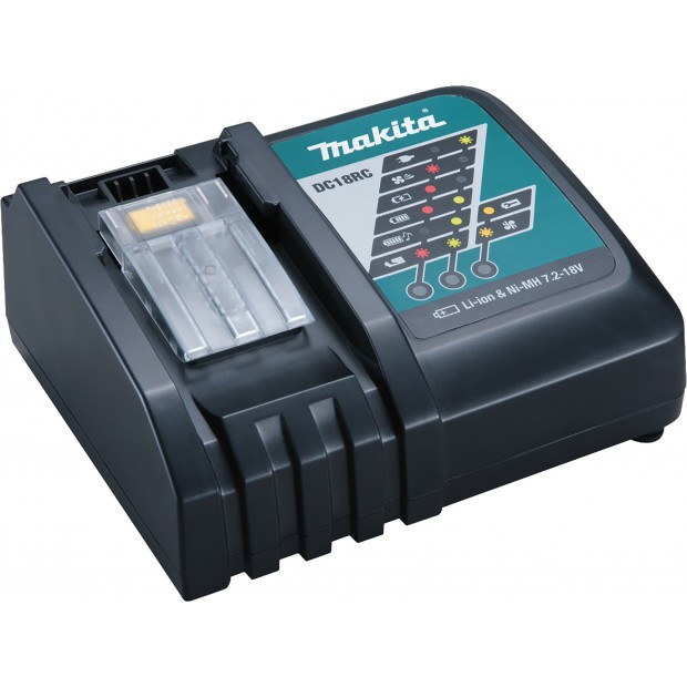 MAKITA DC18RC (charger for the MAKITA DBO180RMJ)