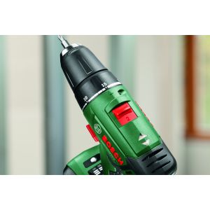 comes with for the BOSCH GREEN PSR 1800 LI-2 BODY